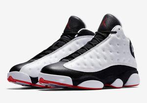 5acdeec4533c8e 2018 Air Jordan Retro 13 XIII He Got Game black white 414571-104 ...