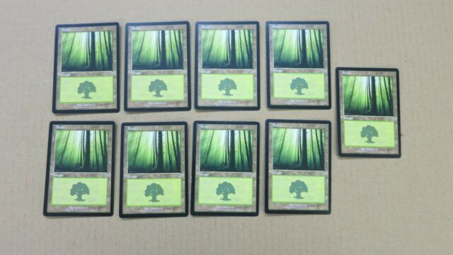 20 Basic Land Forest Revised MP-NM Condition SAME ART Magic MTG FTG