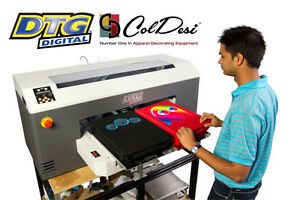 Dtg M2 Direct To Garment T Shirt Printer New