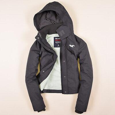Hollister Damen Jacke Jacket Gr.M (DE 36) All Weather Fleece