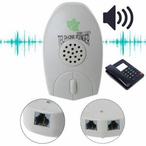 Amplifier-Landline-Phone-Bell-Ringer-Extra-Loud-Telephone-Ring-For-The-Old