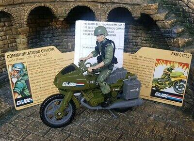 GI Joe 25th Anniversary RAM Motorcycle ~ Complete