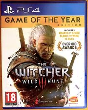The Witcher III - Wild Hunt - Game of the Year Edition - PlayStation PS4 Games