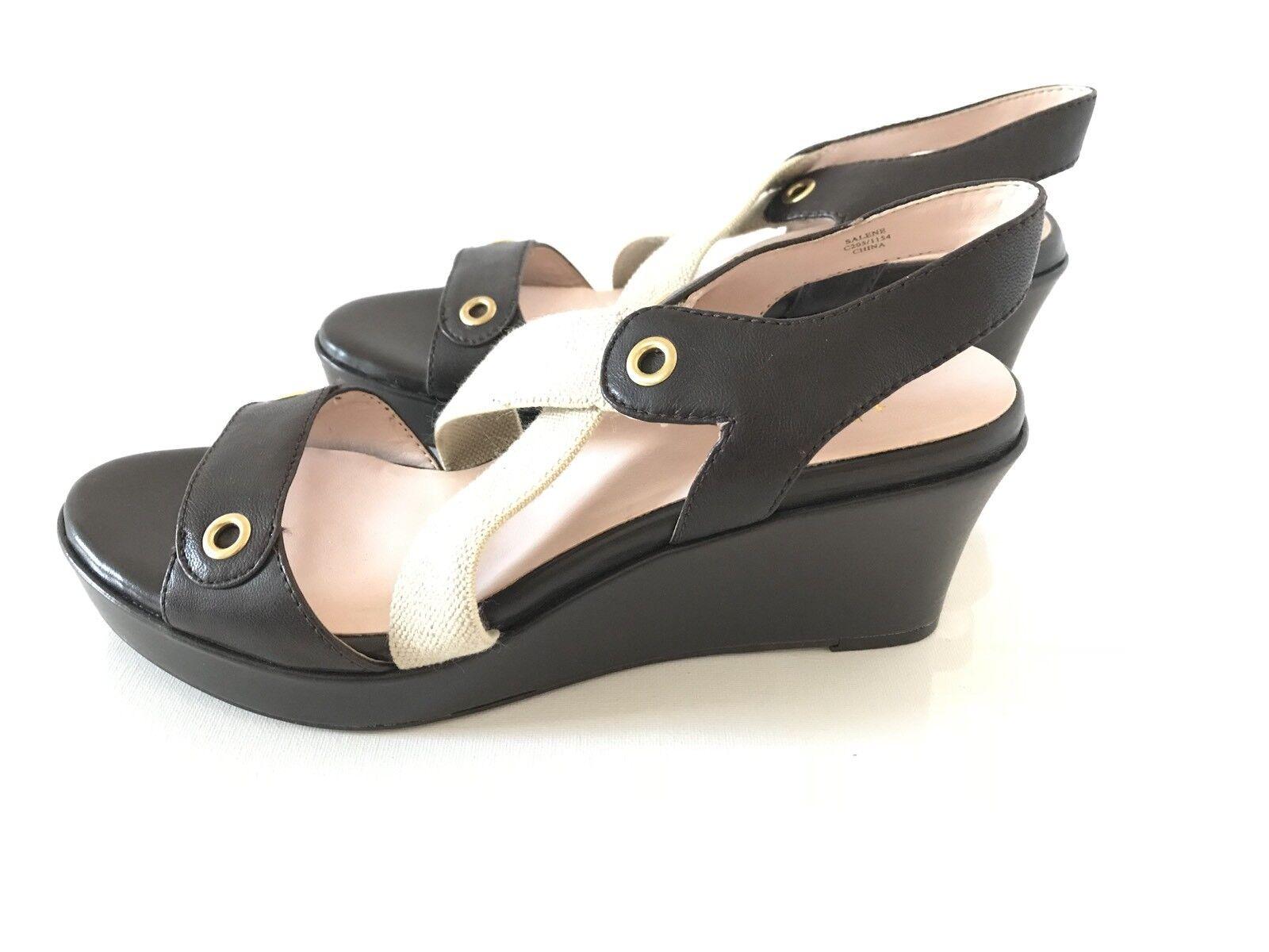 Taryn rosa donna scarpe Dimensione 7.5 Salene Salene Salene Platform Wedge Sandal Open Toe Marronee ed23a3