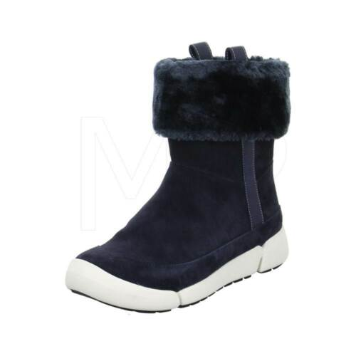 D Mid Navy 4 Attract Ladies Tri Suede 7 37 Botas Calf 41 Clarks Warmed Zq0UwwOT