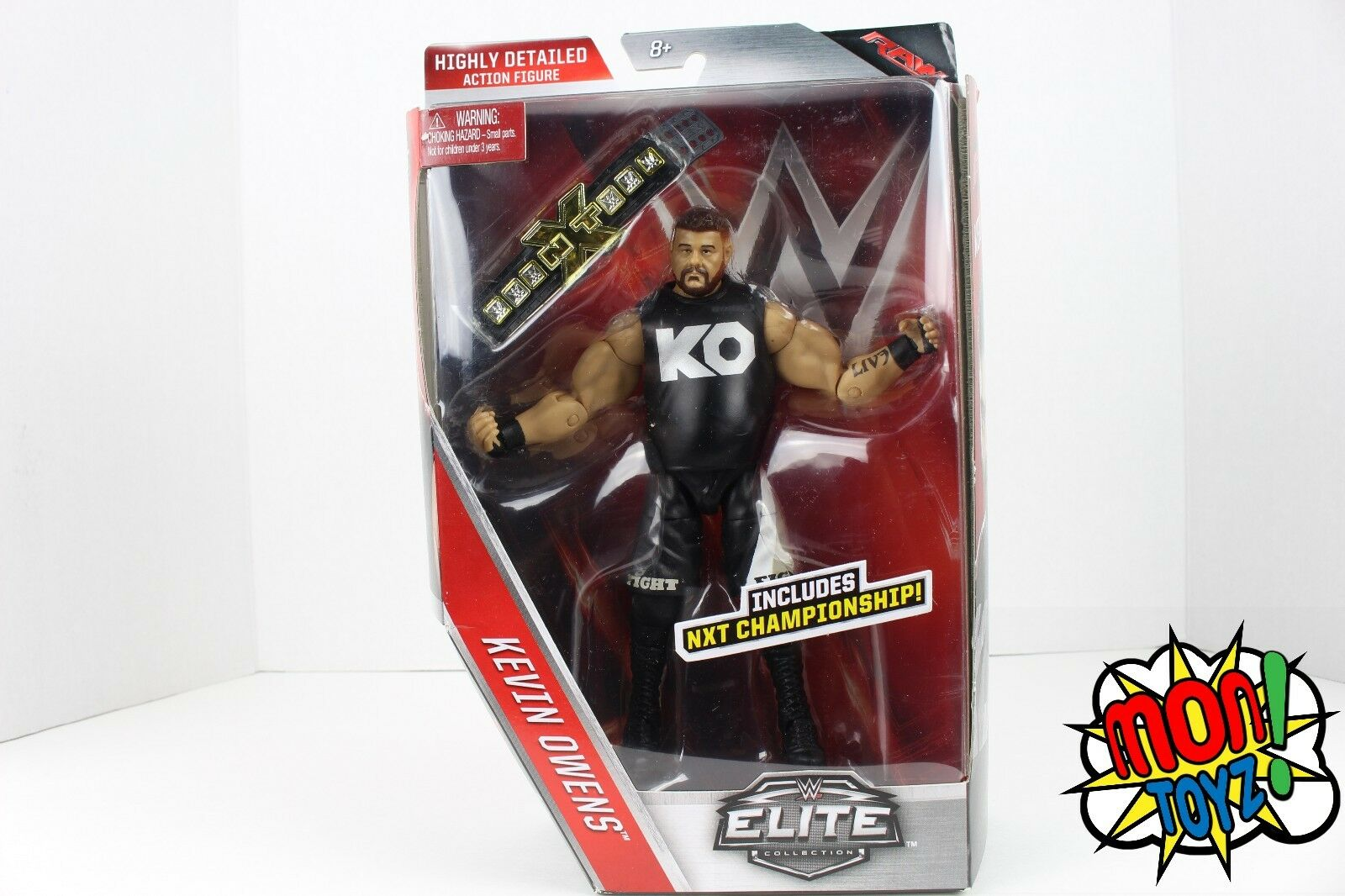 Kevin Owens - WWE ELITE SERIES 43 ACTION 6  FIGURE NXT HTR