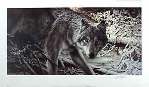 Ltd freeze Geoff Raro Signed 39cm x Wolf Nuevo Snow Frame Taylor 68cm Tamaño Ed qISfIY