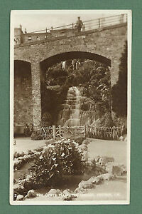 C1920'S POSTCARD LOWER FALLS CASCADE VENTNOR ISLE OF WIGHT PUBLISHED LOCALLY