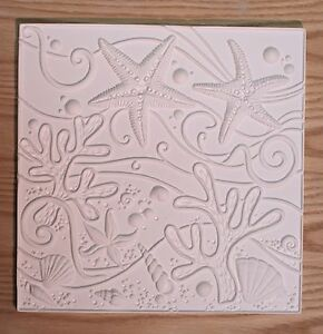Sea Life Texture Tile Mold for Glass Slumping 12 x 12 New Item Retails $40