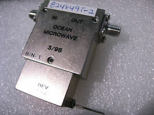 Coaxial-Circulator-Ocean-Microwave-US824849-T-2-824-849-MHz-NOS-Qty-1