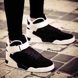 55bb69f9dbd16 La imagen se está cargando Zapatillas-para -hombre-Botas-al-Tobillo-Zapatos-Informales-