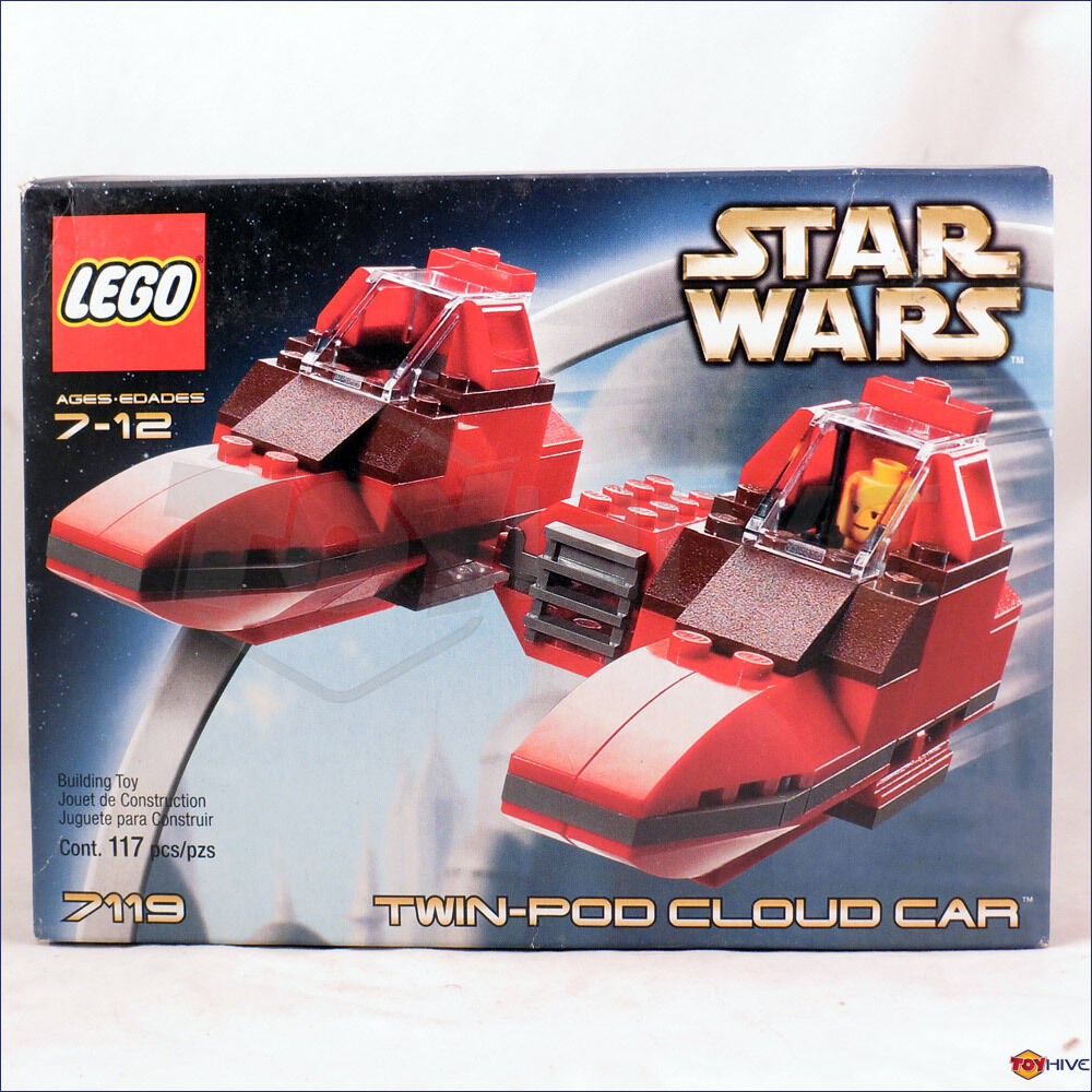 Lego Star Wars 7119 - Twin Pod Cloud Car Nuovo Sealed worn box