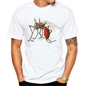 Men-Casual-Shirts-Printed-Short-Sleeve-Crew-Neck-T-Shirt-Tops-Plus-Size-S-4XL
