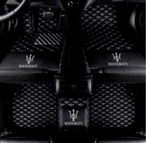 2014-2019 Maserati Ghibli Car Floor Mats Front Rear Liner Waterproof Auto Mats
