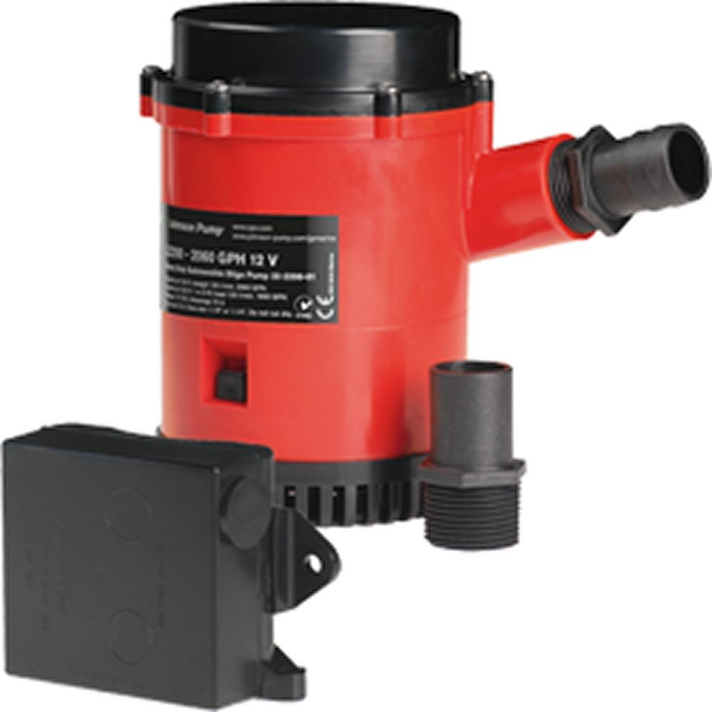 Johnson HD Bilge Pump 2200 GPH wUlt. Switch 12V