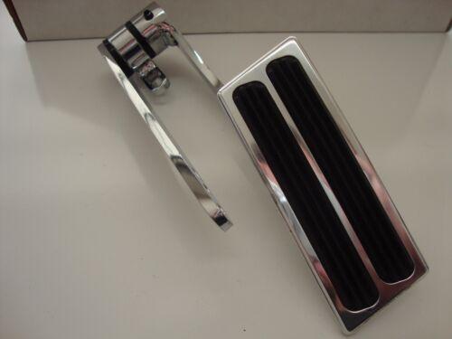 BILLET ALUMINUM GAS//THROTTLE PEDAL,STAINLESS CABLE,BRACKET #8601POL//6054//6055