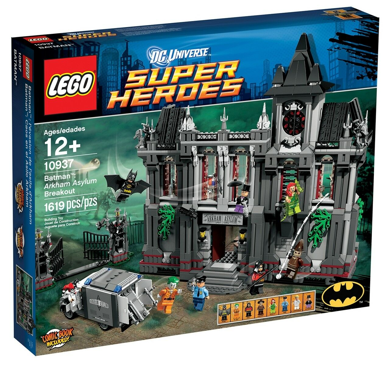 Lego Batman 10937 - Arkham Asylum Breakout - BRAND NEW and SEALED