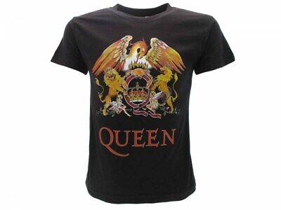 Other Honesty T-shirt Originale Queen Freddie Mercury Banda Rock Film Bimbo Bambino Ufficiale We Have Won Praise From Customers