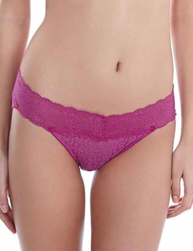 Wacoal Halo Lace Stretch Brief Knickers Pant 878205 Wild Aster Purple