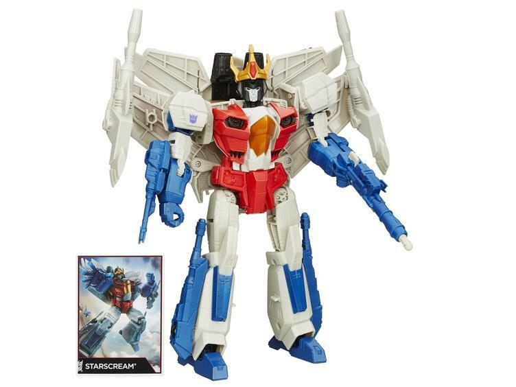 Transformers Leader Class Star Scream Combiner wars Action Figure New   Sealed