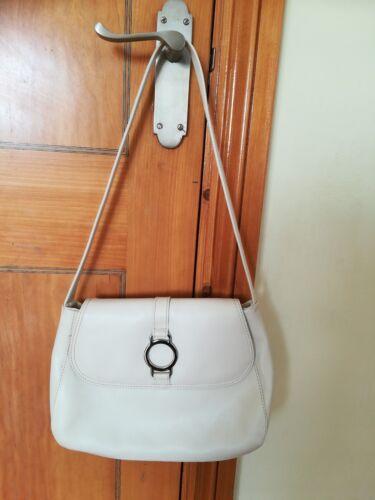 ivoire sac Jane par Shilton main blanc à Superbe Bnwot cuir 100 YWgq0zd