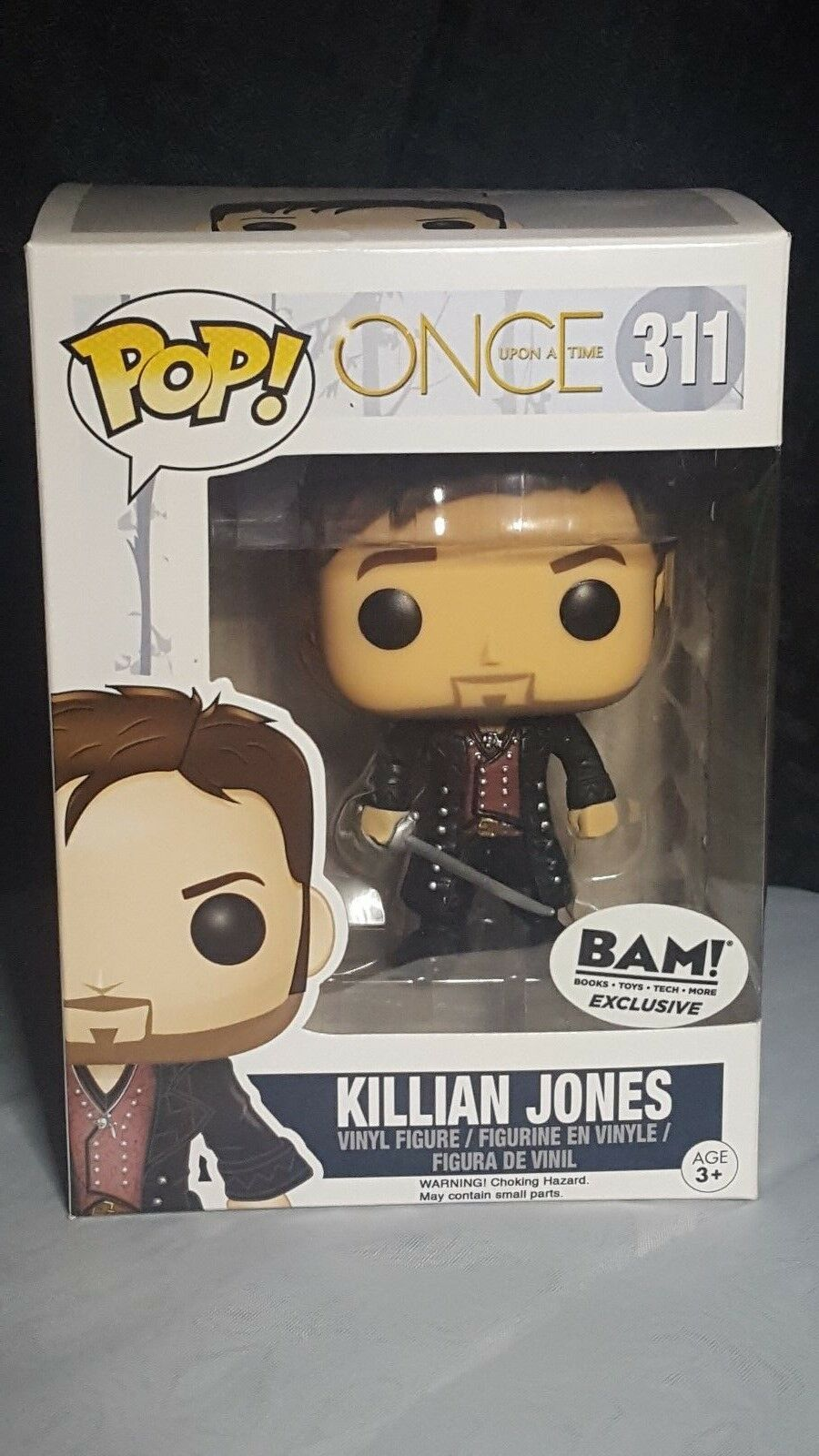 Once Upon a Time-KILLIAN Jones #311 Funko 7277 Pop Television