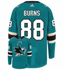 sports shoes 8b62e 5d46a Details about Brent Burns #88 San Jose Sharks NHL Jersey