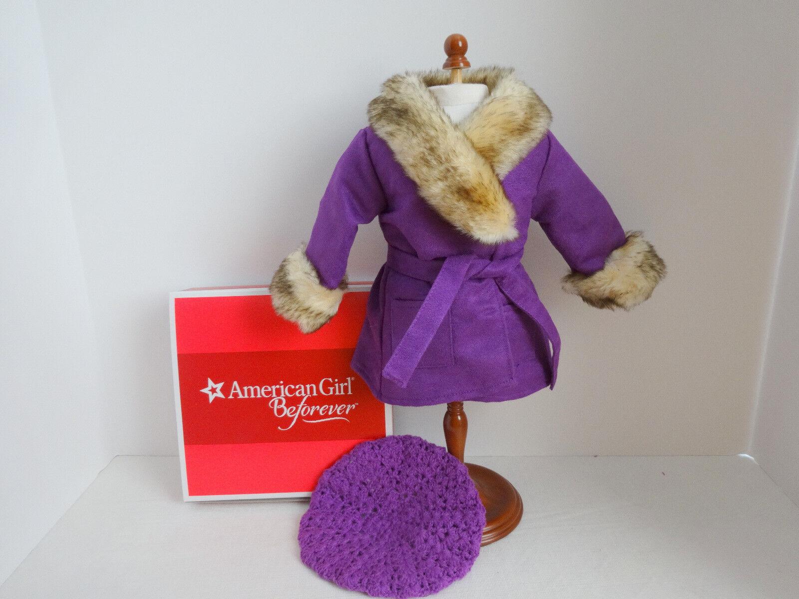 Beforever Julie/'s Winter Coat /& Hat for 18-inch Dolls NEW IN BOX American Girl