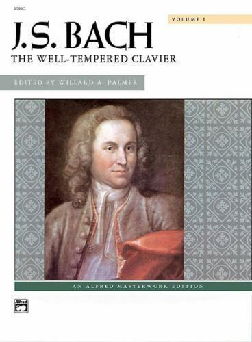 The Well-Tempered Clavier Volume II Alfred Masterwork Edition