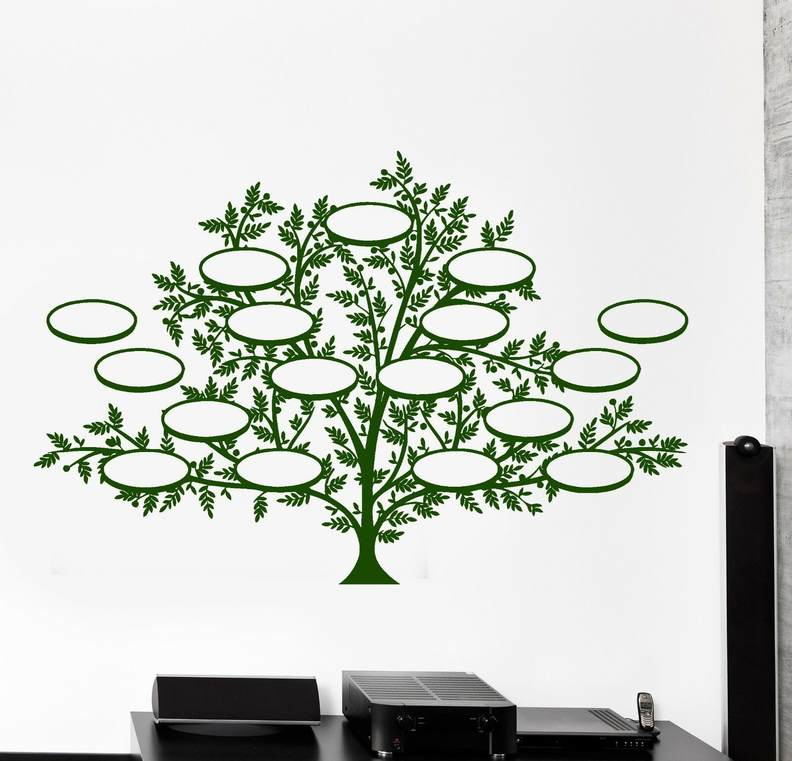 Wall Vinyl Decal Family Tree Picture Memory Cool Amazing Decor Mural z3907