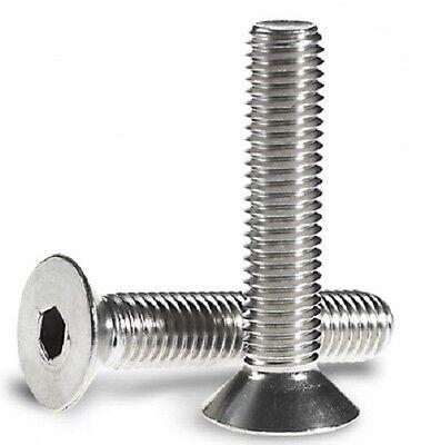 Viti cilindriche con esagono incassato DIN 912 M8X40 in acciaio inox A2 20 pezzi