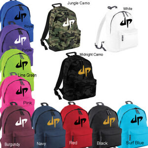 d6b60c5b9131 Details about DUDE PERFECT Backpack Rucksack School GYM PE College Kids  Boys Girls Youtube New