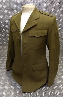 Glorious Genuine British Army Khaki Green No 2 Suits & Suit Separates Number 2 Old Pattern Uniform Jacket Nb Men's Clothing