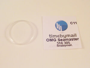 Watch Crystal Plexi Glass For OMEGA SEAMASTER Replacement Spare Part 31.6mm C11