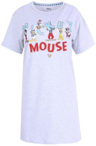 Graues Mickey Mouse Disney Nachthemd