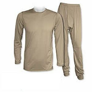 US-army-ECWCS-GEN-III-Level-1-Polartec-Ropa-Interior-Set-tan499-ml-medio-largo