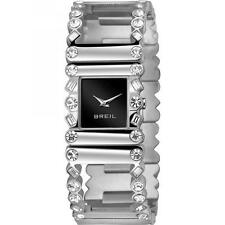 Orologio Donna BREIL ROLLING DIAMONDS TW1368 Bracciale Acciaio Swarovski Nero
