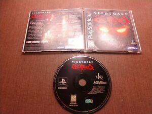 Sony-PlayStation-1-PS1-PSOne-CIB-Complete-Tested-Nightmare-Creatures-Ships-Fast