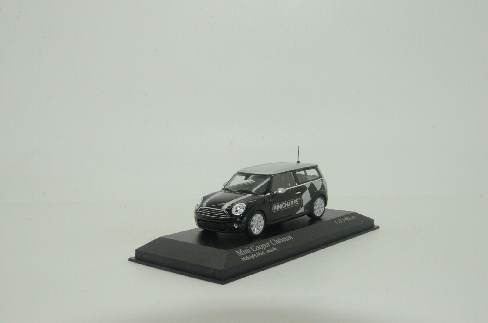 Mini Cooper Clubman 2007 negrometallice Minichamps 138672 1 43