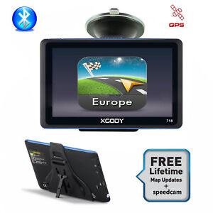 7-039-039-GPS-Systeme-de-Navigation-Bluetooth-Voiture-Poids-Lourd-Camping-Car-w-POI