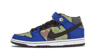 Nike DUNK MID PRO PREMIUM SB Old Royal Black White Discounted (322) Men's shoes