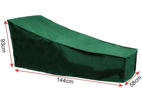 Möbelschutzhülle Abdeckplane Schutzhaube für Sonnenliege 144x58x93cm GZ1199gn