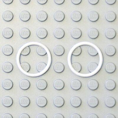 Lego Technic Bianco 15mm Elastico Fascia Di Gomma O-ring Cinghia Trapezoidale X2 - 70902 6049739 Nuovi-mostra Il Titolo Originale Così Efficacemente Come Una Fata