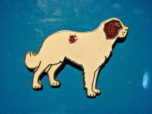 BERNARD DOG tie tac hat pin Saint ST lapel pin L hatpin GIFT BOXED