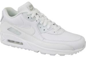 online store d22e9 123e4 Laufschuhe Nike Air Max 90 Leather 302519-113 Herren weiß Gr