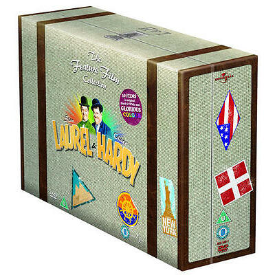 Laurel and Hardy: The Feature Film Collection (Box Set) [DVD]