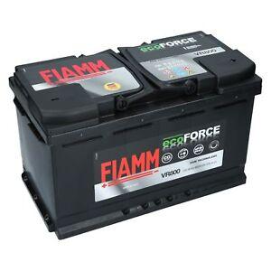 AGM Starterbatterie 12V 70Ah Fiamm EcoForce Autobatterie füt Start Stopp