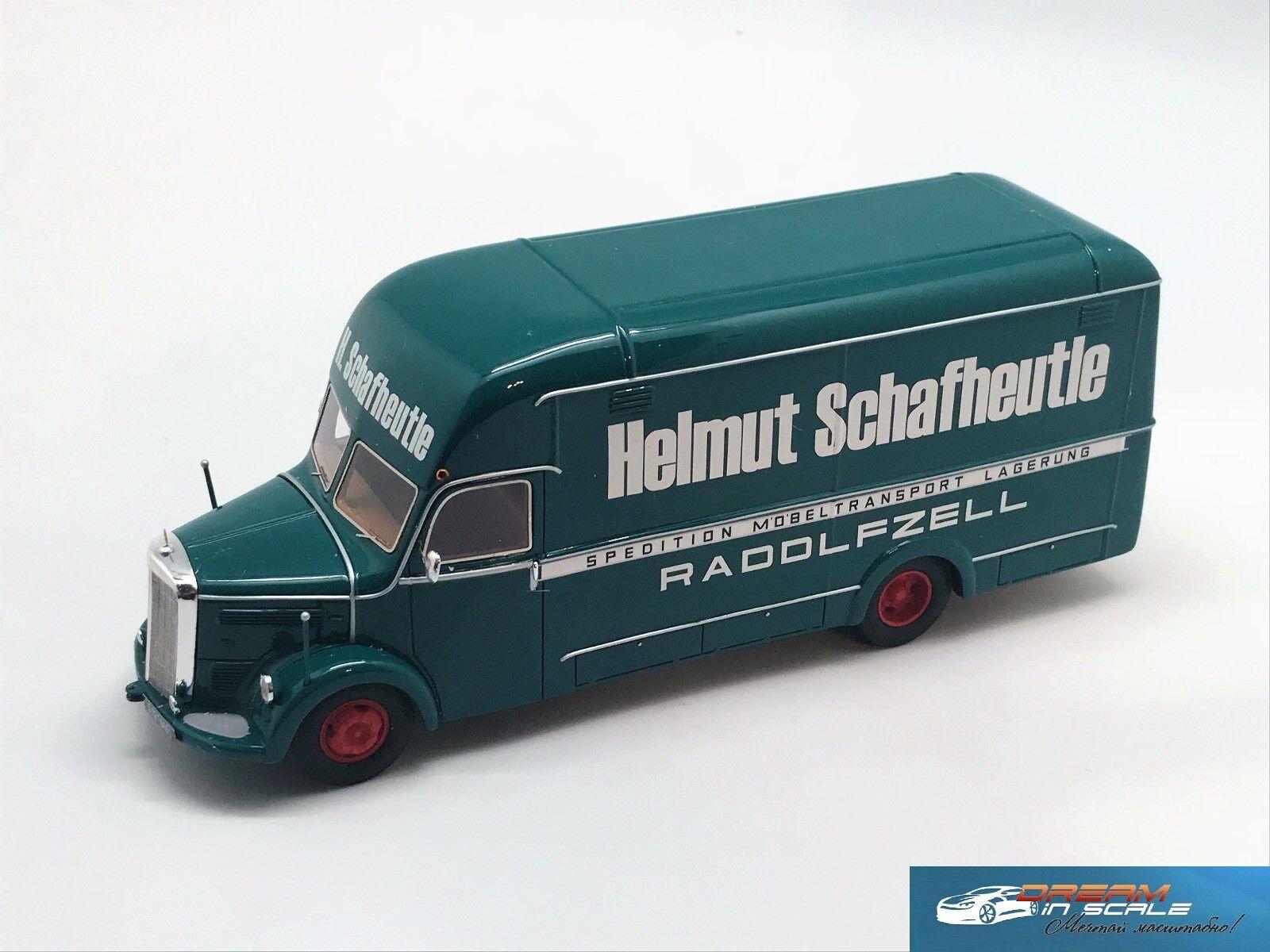Mercedes Benz O3500 Helmut Schafheutle Vert 1950 NEO46101 1 43   service attentionné