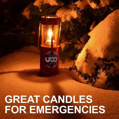 UCO 12-Hour Natural Beeswax Candles for Candle Lanterns