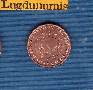 Pays-Bas-2003-1-centime-d-039-Euro-Piece-neuve-de-rouleau-Netherlands